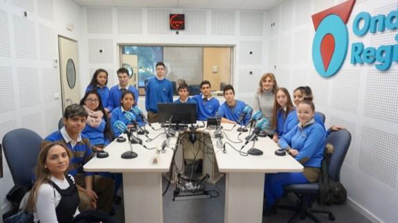 ONDA ABIERTA | Visita del colegio Magda de Ceutí