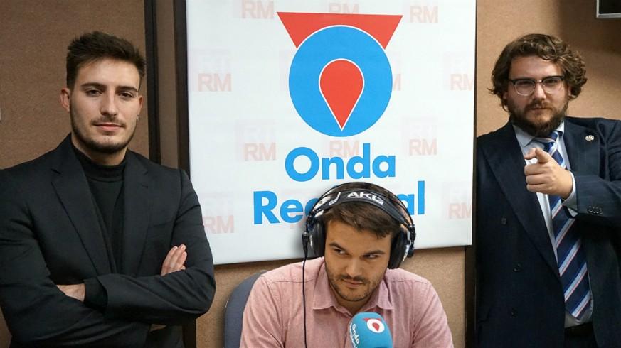 Samuel Pérez, Rafael Fernández y Kiko Torres