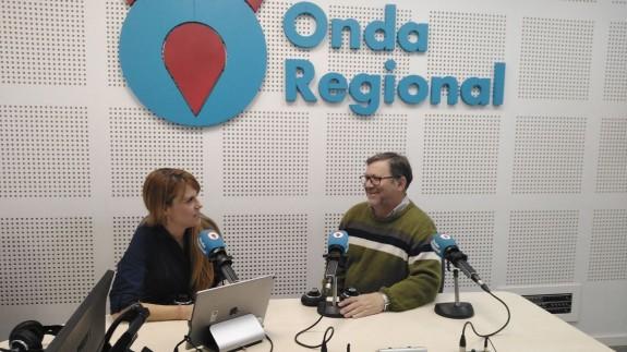 Joaquin Sánchez en la entrevista en Afectos Especiales con Lucía Hernández