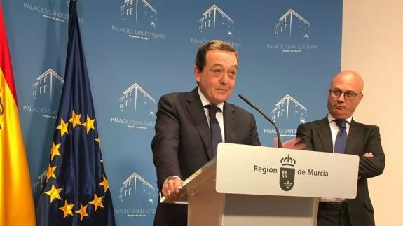 José Mª Albarracín en rueda de prensa