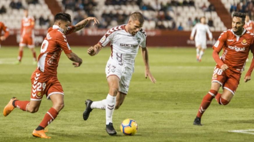 Alfredo Ortuño aportará experiencia y gol. Foto: Albacete Balompié