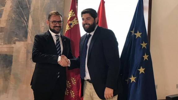 López Miras y Diego José Mateos.