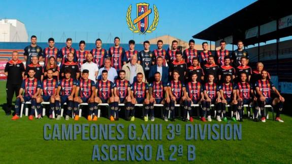 Foto de equipo del Yeclano. Foto: Yeclano Deportivo
