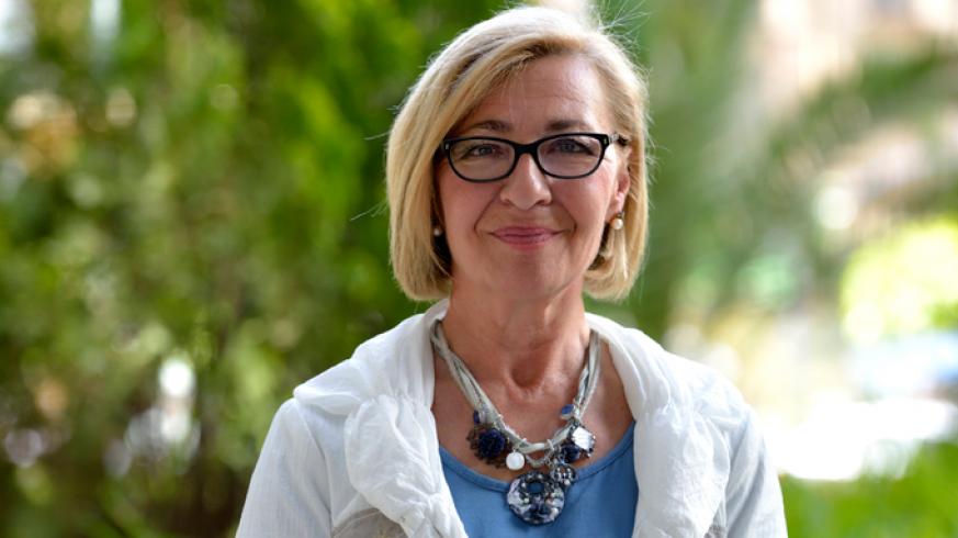 Maruja Pelegrín, concejala de Relaciones Institucionales y Comercio del Ayuntamiento de Murcia