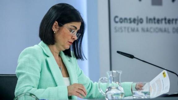 Carolina Darias, ministra de Sanidad. EP