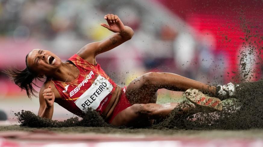 Ana Peleteiro logra el bronce en triple salto y España llega a siete medallas