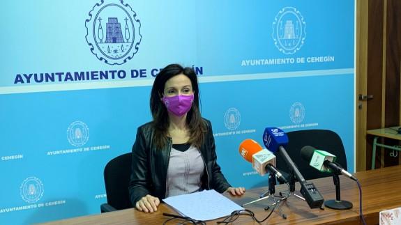 Loli Agudo, concejala de Turismo y Comercio en el Ayuntamiento de Cehegín
