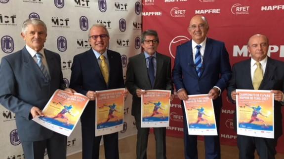 Murcia acoge el Nacional por Equipos Masculinos absoluto de tenis en noviembre