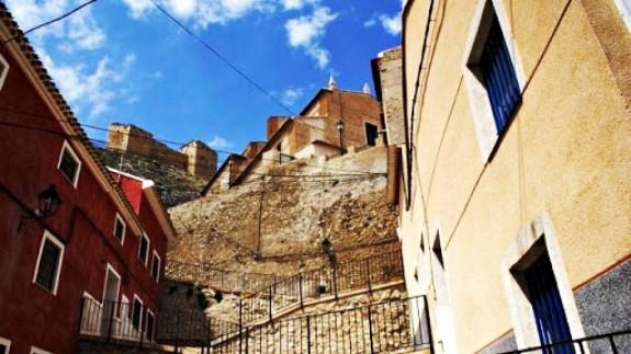 Gradas del Carmen, una de las zonas del conjunto histórico de la ciudad de Mula