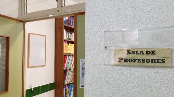 Sala de profesores de un colegio. ORM