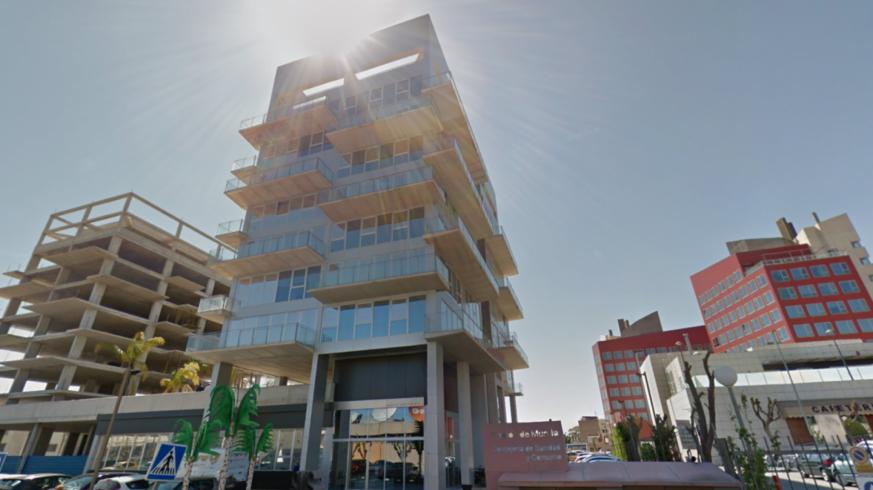 Edificio Habitamia del Servicio Murciano de Salud en Murcia. GOOGLE MAPS