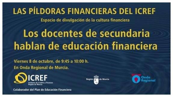 PLAZA PÚBLICA. Las píldoras de economía doméstica del ICREF. Día de la Educación Financiera