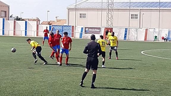 El Palmar vence a la Minera y aprieta el grupo por la permanencia (0-1)