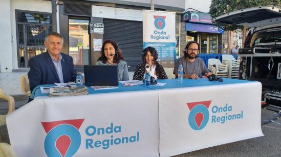 Miguel Massotti, Marta Ferrero, María Ruíz y Antonio García en Puerto Lumbreras
