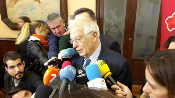 Josep Borrell en Murcia