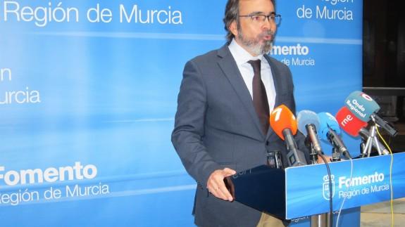 Pedro Rivera, consejero de Fomento, en una imagen de archivo