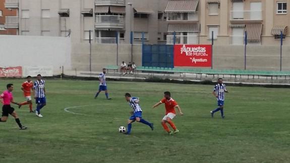 El Águilas remonta y vence 2-1 al Cartagena B