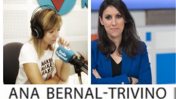 Concha Álcantara en la entrevista a Ana Bernal