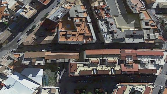 Calle Simancas de Caravaca de la Cruz