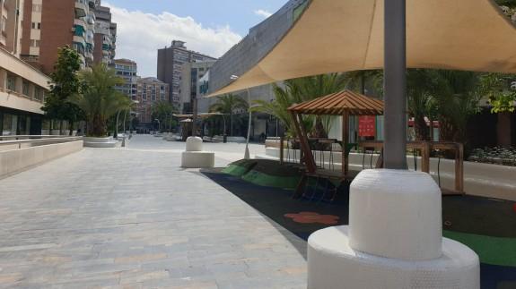 Calle de Murcia vacía durante el primer Estado de Alarma. ORM