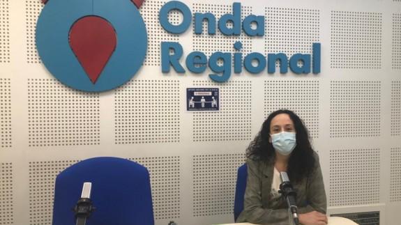 Isabel Cutillas en Onda Regional
