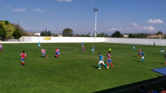 El Olímpico de Totana se aferra a la permanencia y hunde al Muleño (0-1)