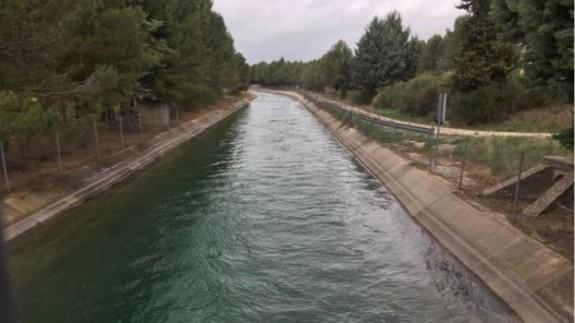 Agua del trasvase (archivo). EUROPA PRESS