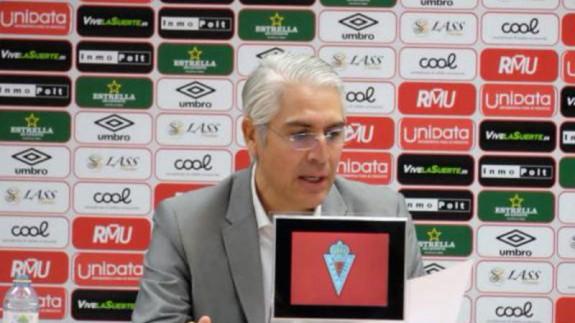 Mauricio García de la Vega en rueda de prensa