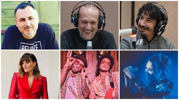 Juan Antonio Sánchez JASS, Román García, Fran Ropero, Rozalén, Silk Sonic y Zaz