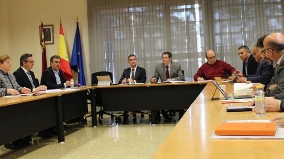Imagen de archivo de una de las reuniones para alcanzar el Pacto Regional del Agua