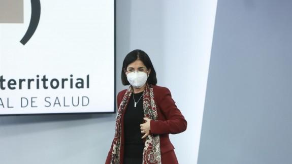 Darias, tras una reunión del Consejo Interterritorial de Salud