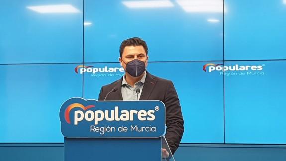 José Miguel Luengo, en la rueda de prensa ofrecida este jueves.