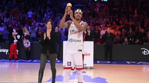Jarell Eddie, recoge el MVP de la Leaders Cup de Francia