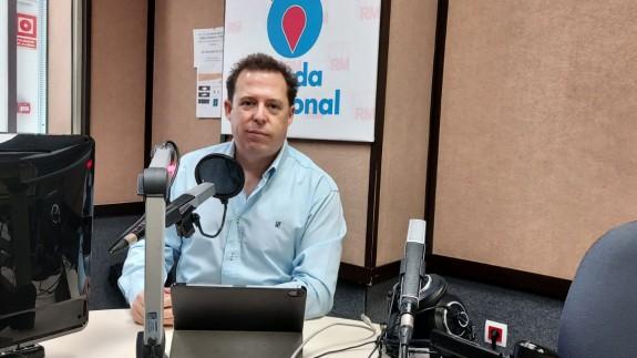 Antonio Rentero en Onda Regional