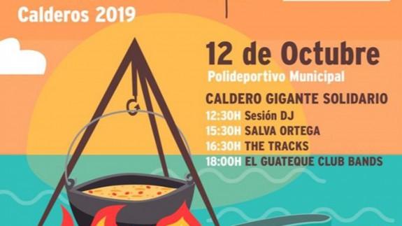 EL ROMPEOLAS. Fiesta 'solidaria' del Caldero en Los Alcázares