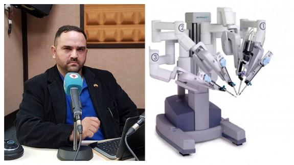 VIVA LA RADIO. La revolución espectral. Robots quirúrgicos: disminuyen el dolor, la pérdida de sangre, y dejan menos cicatrices
