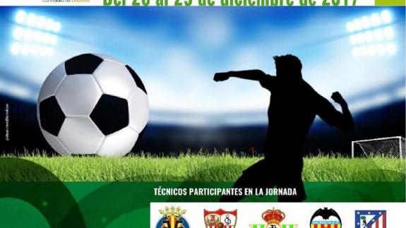 Cartel de las Jornadas que organiza el Lorca Deportiva