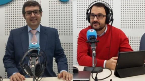 Germán Teruel y Ángel Cobacho.