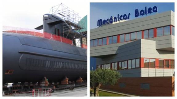 PLAZA PÚBLICA. Mecánicas Bolea y el Submarino Isaac Peral S 80