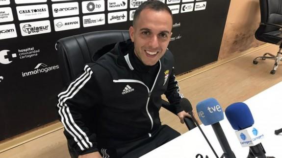 Borja Jiménez, entrenador del FC Cartagena