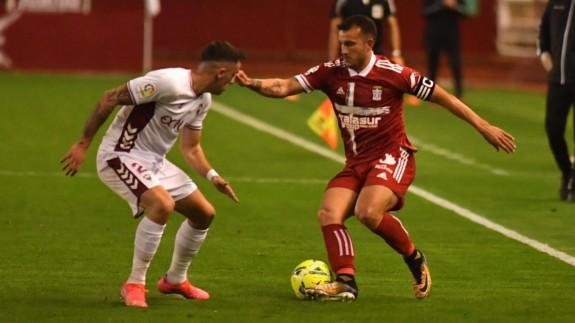 Elady, en el partido frente al Albacete