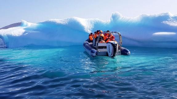 Un iceberg en Groenlandia. Foto: Pxfuel