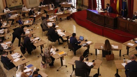 Pleno del Ayuntamiento de Murcia. AYUNTAMIENTO MURCIA