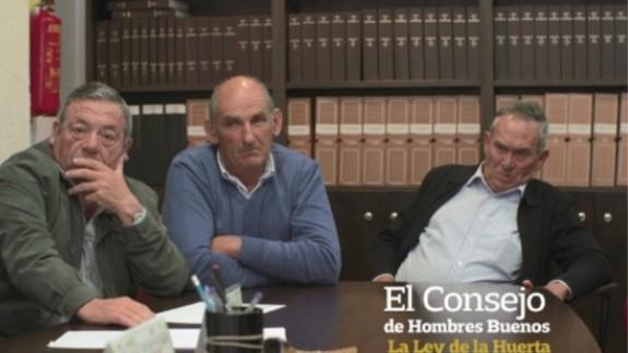 Una imagen del documental Consejo de Hombres buenos de Gonzalo Ballester