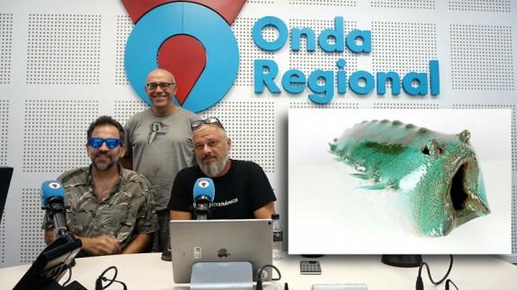 LA RADIO DEL SIGLO. Exposición 'El cazador de barro' en el Centro Párraga
