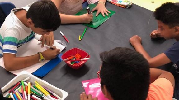 Niños en los centros de conciliación municipales. AYUNTAMIENTO DE MURCIA