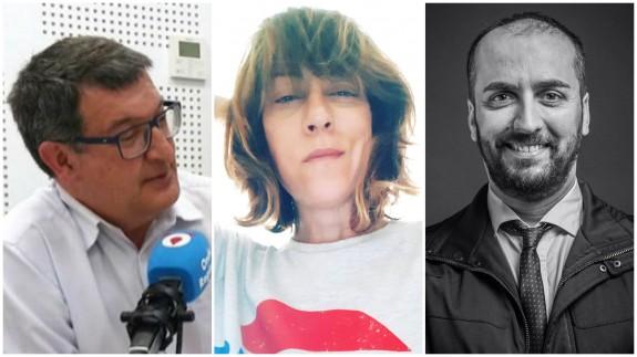 Pedro Quílez, Vega Cerezo y Juan Pablo Soler