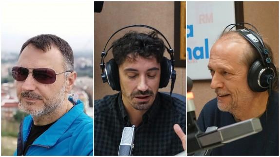 Juan Antonio Sánchez JASS, Fran Ropero y Román García