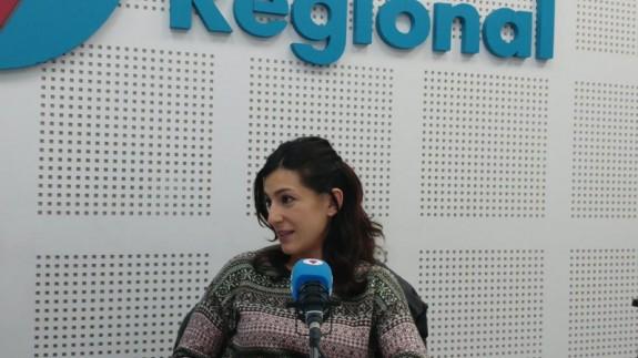 Julia Casado en Onda Regional