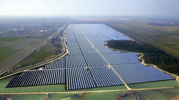 Planta fotovoltaica alemana